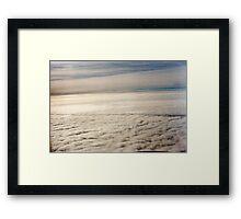 Sea of White Framed Print