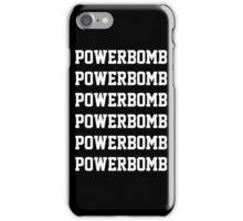 Powerbomb X6 iPhone Case/Skin