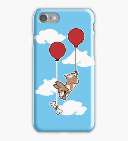 Fly and Fetch Corgi iPhone Case/Skin