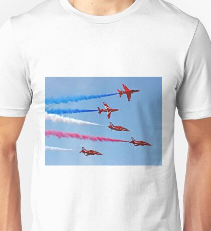 The Red Arrows - Rollbacks - Farnborough 2014 Unisex T-Shirt