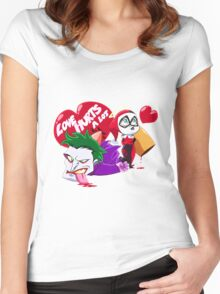 SUICIDE SQUADE Women's Fitted Scoop T-Shirt