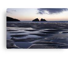 Holywell Bay, Cornwall, UK ~ Atlantic Coast Canvas Print