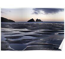 Holywell Bay, Cornwall, UK ~ Atlantic Coast Poster