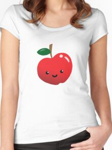 Cute Fruit: Apple Madness Women's Fitted Scoop T-Shirt