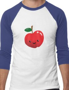 Cute Fruit: Apple Madness Men's Baseball ¾ T-Shirt