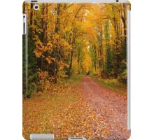 Yellow Walkway iPad Case/Skin