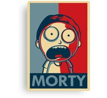 Morty (High Qualty) Canvas Print