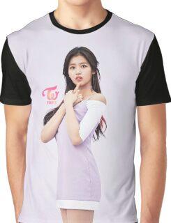 TWICE 'TT' Sana Typography Graphic T-Shirt