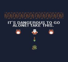 It's dangerous to go alone One Piece - Short Sleeve