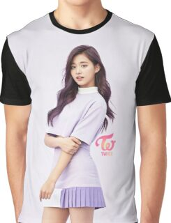 TWICE 'TT' Tzuyu Typography Graphic T-Shirt