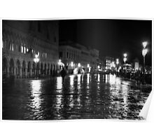 Venice by shadows Poster