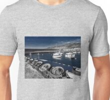 Unplugged At The Harbour - Toned Unisex T-Shirt