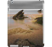 Fistral Rocks, Newquay, Cornwall, UK ~ Atlantic Coast iPad Case/Skin