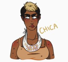Humanized Chica the Chicken by kiwichips