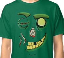 Happy Zombie Face Classic T-Shirt