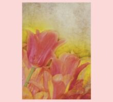 Spring Tulips in Pastels Kids Clothes