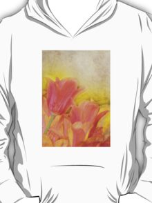 Spring Tulips in Pastels T-Shirt