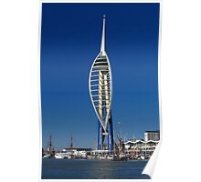 The Spinnaker Tower, Portsmouth Poster