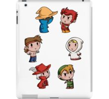 Teenies - Final Fantasy Chibis! iPad Case/Skin