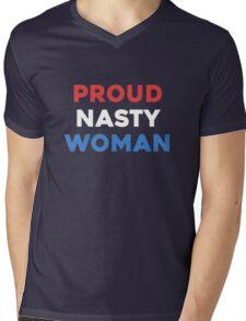 Proud Nasty Mens V-Neck T-Shirt