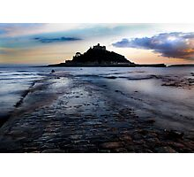 St. Michael's Mount, Cornwall, UK ~ Atlantic Coast Photographic Print