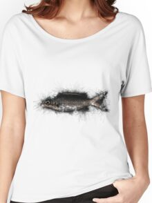 Sketch Fish Women's Relaxed Fit T-Shirt