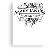 Vintage Mary Jane Canvas Print