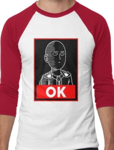 Saitama Ok Men's Baseball ¾ T-Shirt