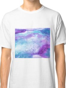Amethyst watercolor Classic T-Shirt