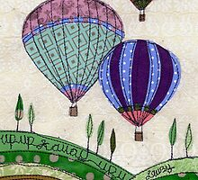 """""""Up, Up & Away""""  by Laura Nathan"""