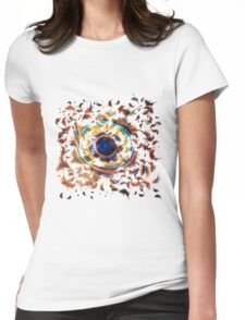 Fish Eye Womens Fitted T-Shirt