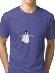 Happy Penguin Tri-blend T-Shirt