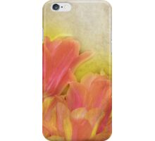 Spring Tulips in Pastels iPhone Case/Skin