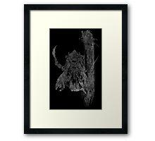 °FINAL FANTASY° Final Fantasy XII B&W Logo Framed Print