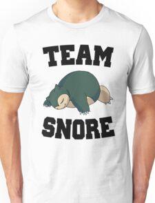Team Snore Snorlax Unisex T-Shirt