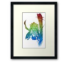 °FINAL FANTASY° Final Fantasy XII Rainbow Logo Framed Print