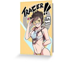 OVERWATCH TRACER Greeting Card