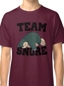 Team Snore Snorlax v2 Classic T-Shirt
