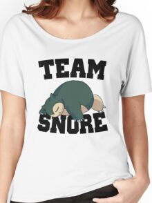 Team Snore Snorlax v2 Women's Relaxed Fit T-Shirt