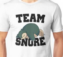 Team Snore Snorlax v2 Unisex T-Shirt