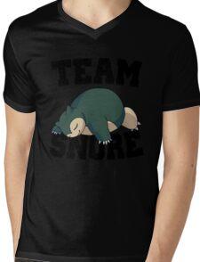 Team Snore Snorlax v2 Mens V-Neck T-Shirt