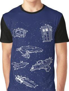 Sci fi Starry Nightsky Graphic T-Shirt