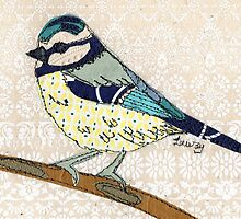 """Blue Tit"" by Laura Nathan"