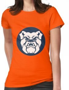 buldog Womens Fitted T-Shirt