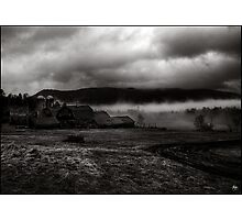 Retreat of the Storm, Sugar Hill, New Hampshire Photographic Print