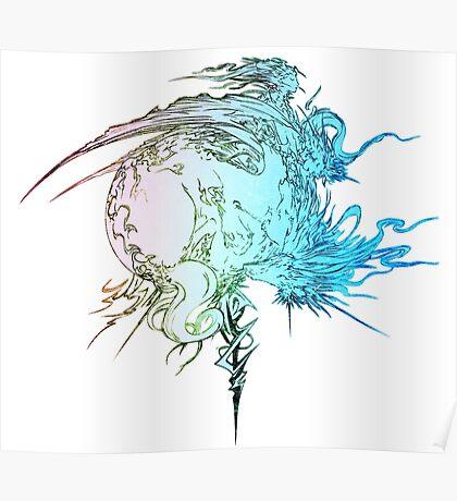 °FINAL FANTASY° Final Fantasy XIII Rainbow Logo Poster