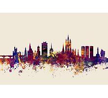 Aberdeen Scotland Skyline Photographic Print