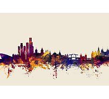 Amsterdam The Netherlands Skyline Photographic Print
