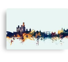 Amsterdam The Netherlands Skyline Canvas Print