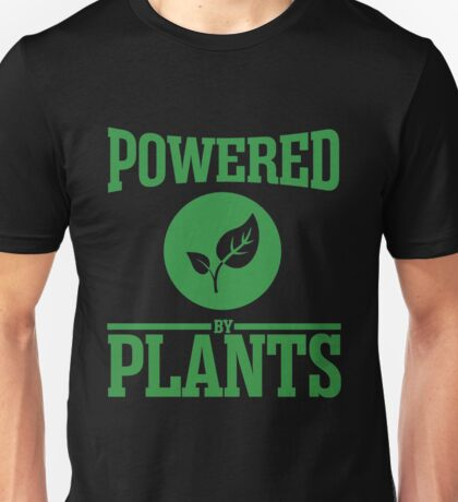 Vegan - Powered By Plants Unisex T-Shirt